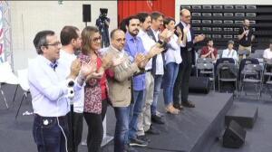 La Asamblea organizada por Podemos firma un manifiesto por el diálogo y el referéndum pactado en Cataluña