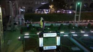 Bélgica celebra el 'Brussels Drone e-show'