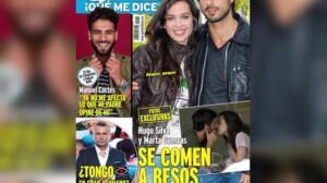 Hugo Silva y Marta Guerras, cariñosos por Madrid