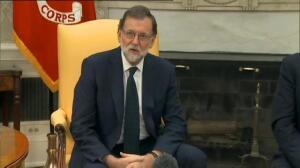 Rajoy y Trump en el Despacho Oval