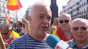 Un detenido y tres heridos en la concentración en apoyo al Referéndum en la puerta del sol