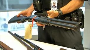 Más de 50.000 armas entregadas durante una amnistía nacional en Australia