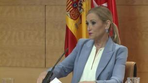 Cifuentes muestra respaldo a Rajoy ante desafío soberanista