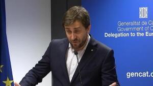 """Toni Comín habla de construir la República catalana """"desde el diálogo"""""""