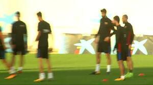 El Barça prepara el partido de Liga de este sábado ante el Málaga