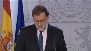 Rajoy disolverá el Parlament, a su presidente y consejeros