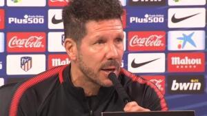 """Simeone: """"A la afición hay que mandarle hechos, no palabras"""""""