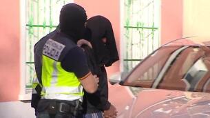 Trasladan al yihadista detenido en Madrid tras el registro en su vivienda
