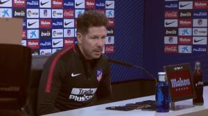 """Simeone: """"Griezmann es el más desequilibrante"""""""