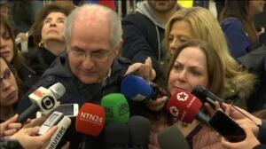 """Ledezma en Madrid: """"Los presos políticos no se fugan, se liberan a sí mismos"""""""