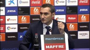 """Ernesto Valverde: """"Quizá el 0-3 es un poco excesivo"""""""