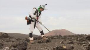 A Marte pasando por Lanzarote