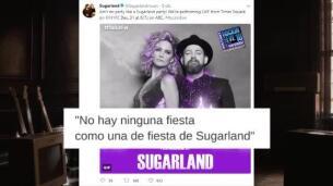 Año Nuevo con Camilla Cabello, Nick Jonas y Sugarland