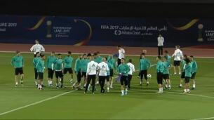 El Real Madrid completa su primer entrenamiento en Abu Dhabi