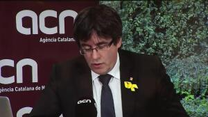 Puigdemont calls on Government to respect independence victory