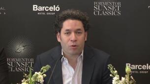 Gustavo Dudamel habla sobre la situación en Venezuela