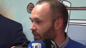 """Iniesta: """"Quizás nadie esperaba que a estas alturas estuviéramos sin ninguna derrota"""""""