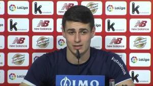Kepa renueva con el Athletic y niega que tuviera un acuerdo verbal con el Real Madrid