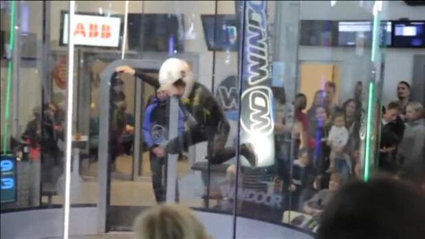 Gerona acoge el quinto campeonato mundial de paracaidismo de interior