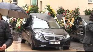 Emotivo entierro de Nacho Barberà en Alzira