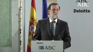 Los fondos de pensiones, y las frases más destacadas de Rajoy en el Foro ABC