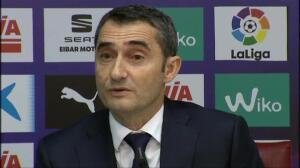 """Valverde: """"Nuestro objetivo hoy era volver a ganar"""""""