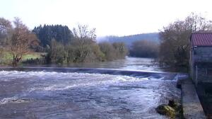El descenso de las temperaturas estabiliza el deshielo y estabiliza el cauce de los ríos