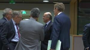 De Guindos se despide de sus compañeros del Ecofin