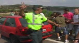 Batalla campal en pueblo de Guadalajara