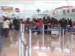 El temporal obliga a cancelar 18 vuelos