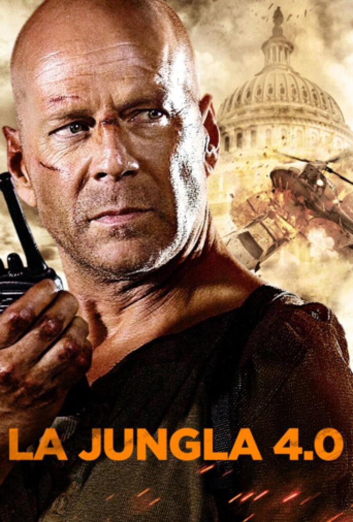 La Jungla 4 0 2007 Película Play Cine