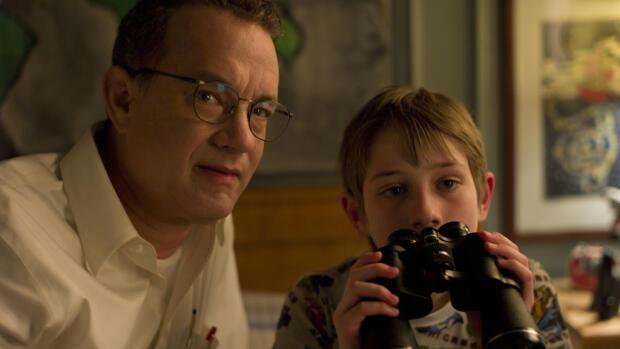 """El pequeño actor, Thomas Horn, protagonizó """"Tan fuerte, tan cerca"""" interpretando a un niño con síndrome de Asperger."""