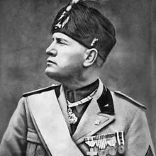 Mussolini, en 1939