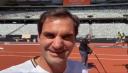 La broma de Federer a Nadal en la antesala de un récord mundial