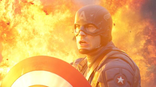 Capitán América El Primer Vengador 2011 Película Play Cine