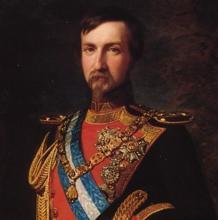 Retrato de Antonio de Orleans