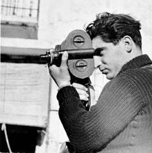 Robert Capa, en la Guerra Civil, en 1937