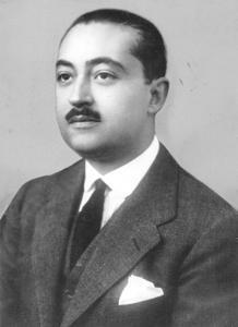 Juan Ignacio Luca de Tena, en 1939
