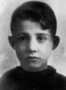 Anteo Zamboni, de Niño