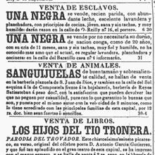 «Diario de la Marina», en 1846